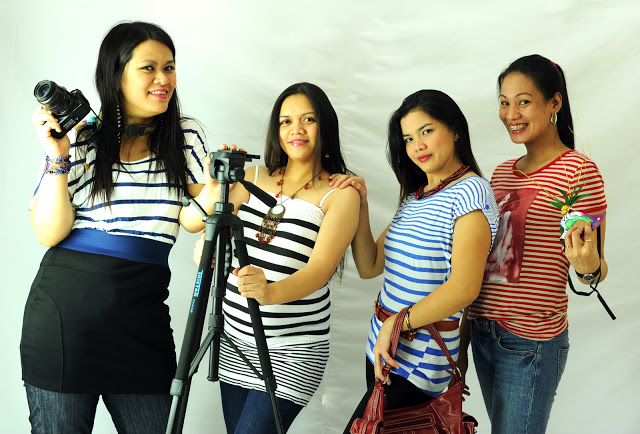 My girl friends - (from Left) Catherine, Me, Evelyn, and Melo