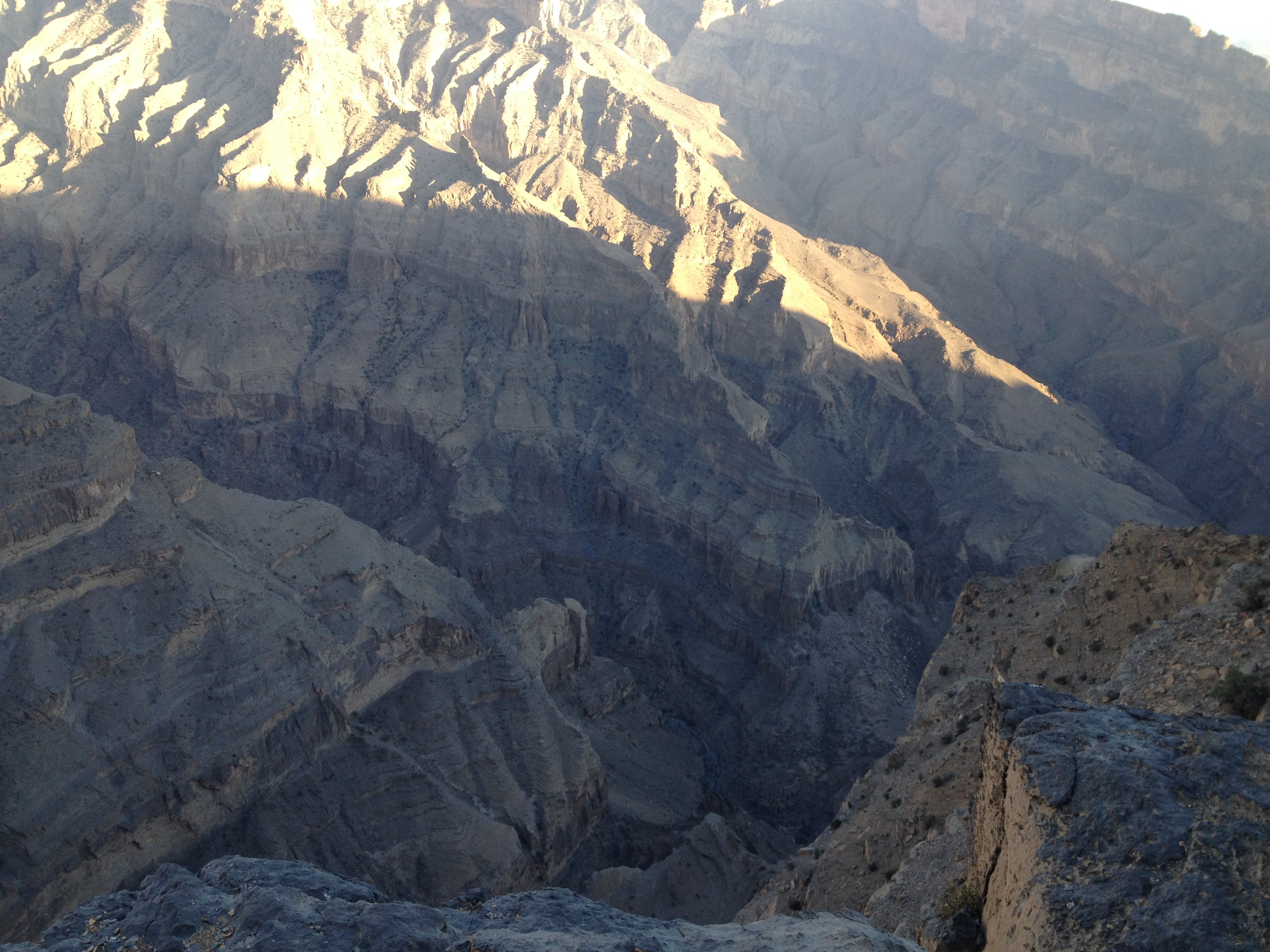 Oman's grand canyon